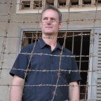 Rob at Tuol Sleng